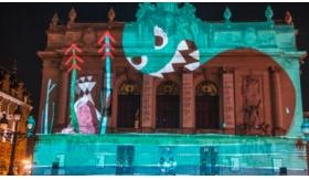 Soirée d'ouverture : Mapping sur la façade de l'Opéra